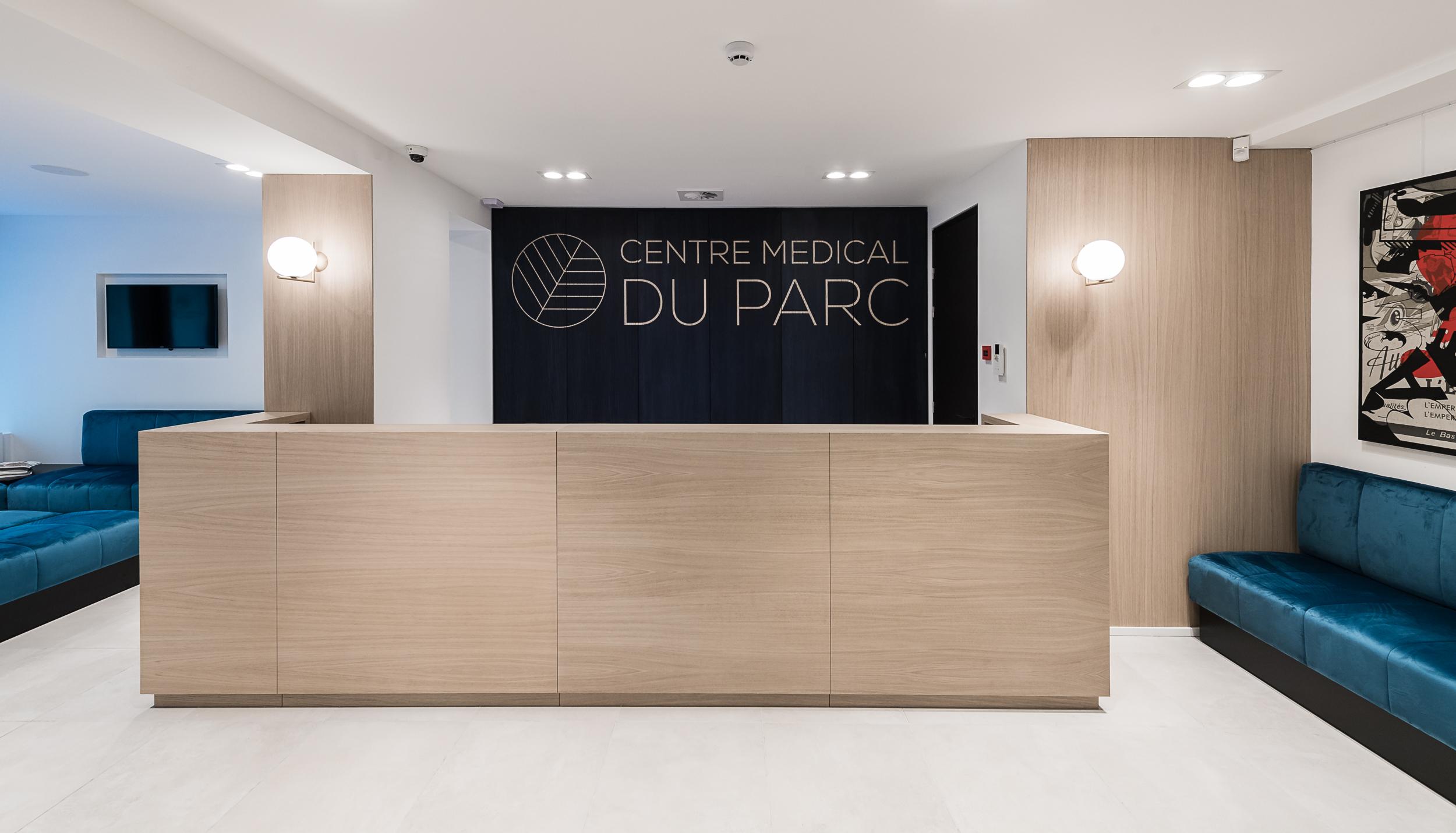 Centre Médical du Parc réception